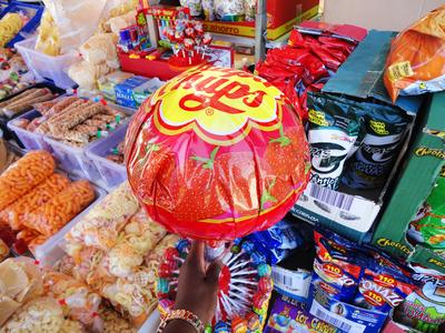 A giant Chupa Chup for a girl with giant dreams! This was taken during my Spain/France trip in the summer of 2012