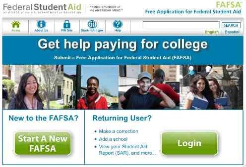 FAFSA Official Website
