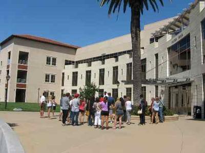 College Tour at Santa Clara University, California