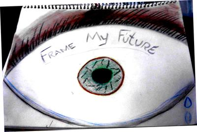 Keep your eyes open and your focus on the future to be and commit a positive image to others.
